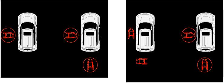 Autorimesse e parcheggi for Kit per posto auto coperto
