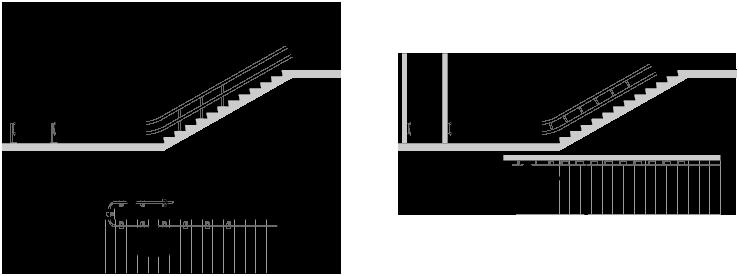 Ingombro scale interne perfect dettaglio scala with - Misure scale interne ...
