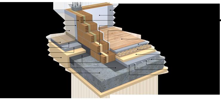 Brick house for Fondazioni per case in legno