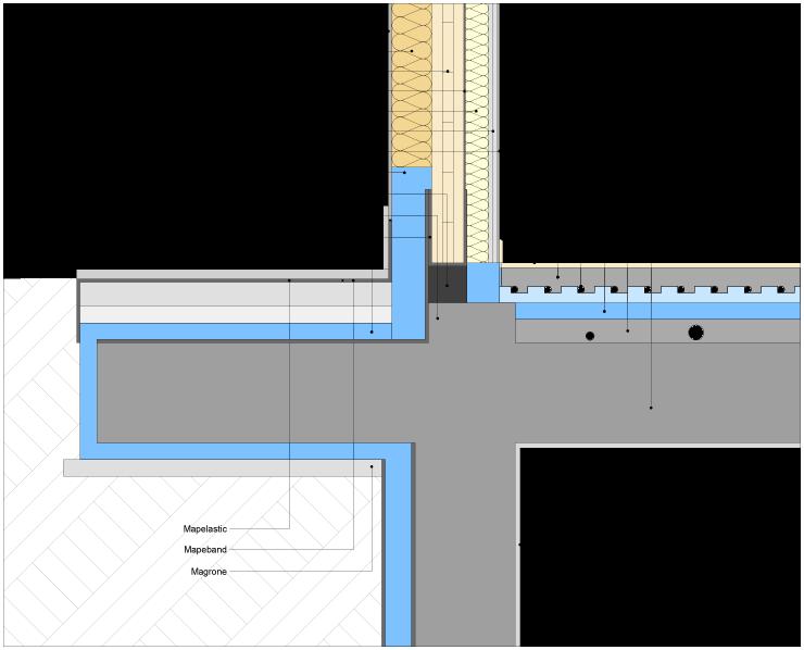 X lam house for Progettista del piano interrato